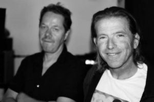 Rolfe and Steve recently in studio