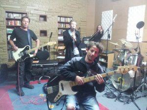 studio with jono and cara